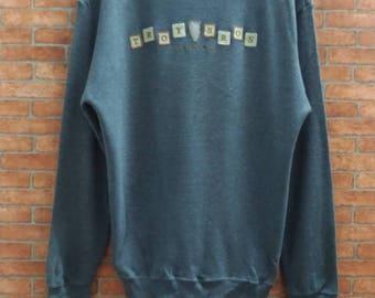 Rare!!Troy Bros Of California USA Sweatshirt Medium Size