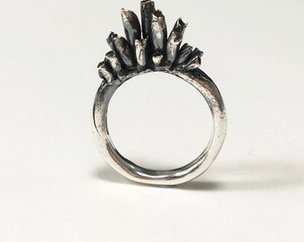 Lesovik Dark Statement Ring