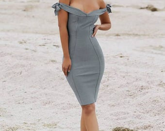 Dress 'Dauphine'- simple and classy