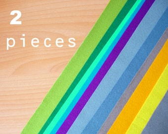2 wool felt pieces 30x40cm - Choose your colors -Irisfelt-