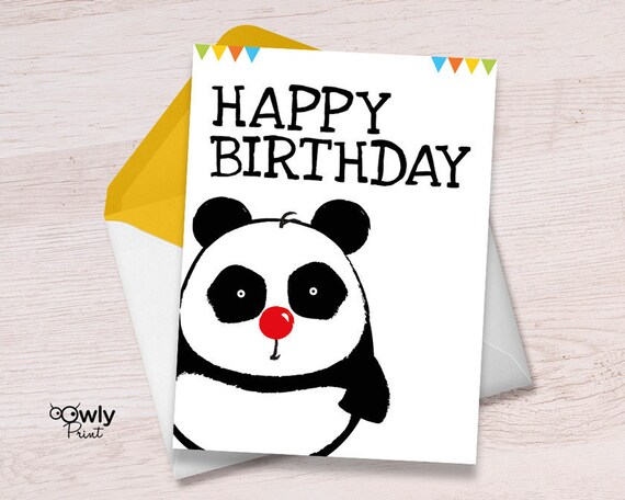 Printable panda happy birthday card ready to print panda printable panda happy birthday card ready to print panda happy birthday card pdf panda happy birthday print bookmarktalkfo Image collections