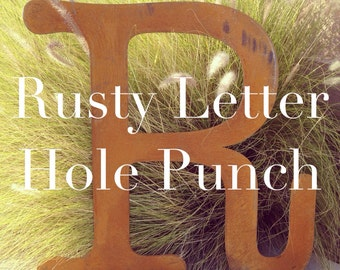 Hole punch fee for Metal Letter Sign purchase