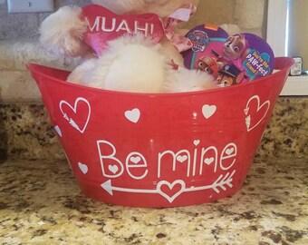 Valentine's day baskets
