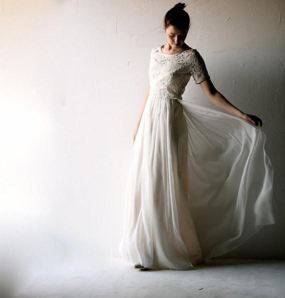 Brautkleid Brautkleid böhmische Brautkleid Boho Brautkleid