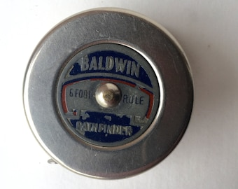 Vintage Baldwin Pathfinder 6 ft. Tape Measure