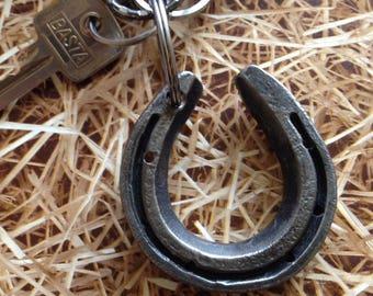 Horse shoe keyring