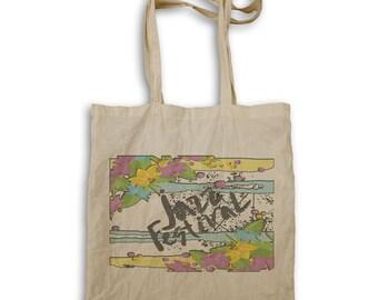 Jazz Festival Art Tote bag v911r