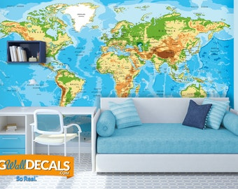 Custom Wall Murals from BigWallDecals.com.  Incredible Gift for Your Kid's Bedroom, Your Man Cave, Living Room or Office Walls.  So Real!.