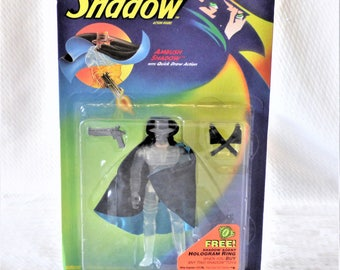 1994 The Shadow Ambush Shadow with Quick Draw Action Figurine
