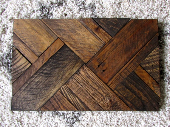 Blank Wood Sign Crosshatch Pattern 15 X 10 Pallet Signs Blanks Rustic Reclaimed From