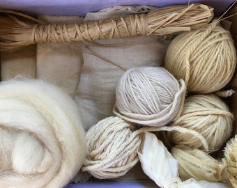 Naturally Dyed Maker's Pack- Eucalyptus Leaves (Tallowood)