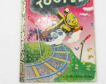 Vintage Tootle Little Golden Book 1982 Children's Book Vintage Little Golden Book Vintage Tootle Train Childrens Book