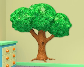 Wall decals tree A023 - Stickers arbre A023