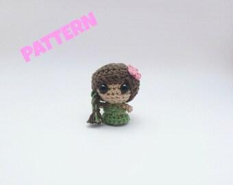 Earth Element Doll Pattern, Crochet Amigurumi Doll Pattern, Crochet Pattern, Amigurumi Doll Pattern, Crochet Doll Pattern, Amigurumi Pattern