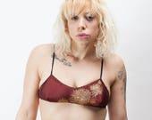 Silk-free underwired bra