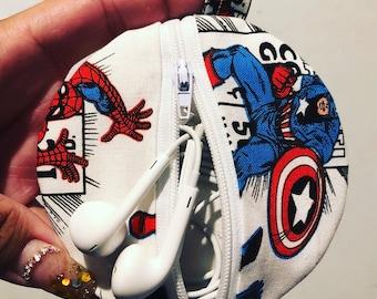 Marvel headphone case