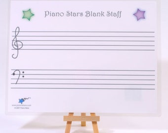 Blank Staff Paper - large