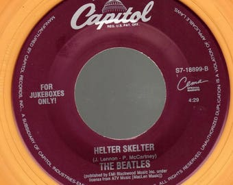 The Beatles 45rpm Capitol S7-18899 Got To Get You Into My life / Helter Skelter