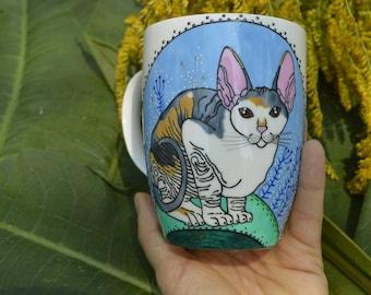 Sphinx Mug Cat Mug Coffee Mug Egyptian Cat Mug Gift For Her Gift For Him Gift For Mom Gift For Catlover