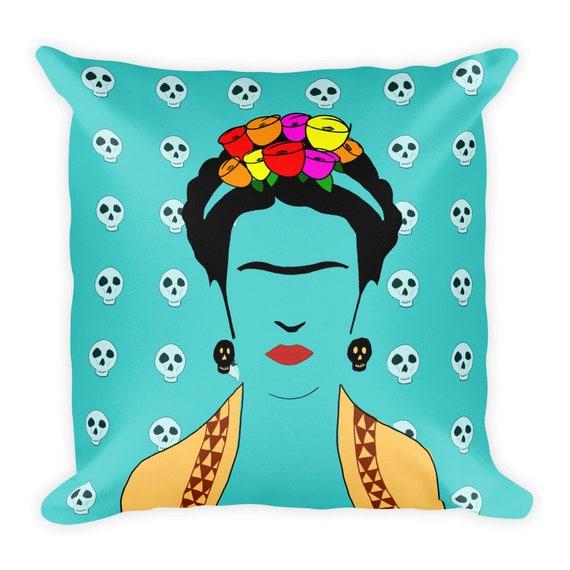 Frida Square Pillow