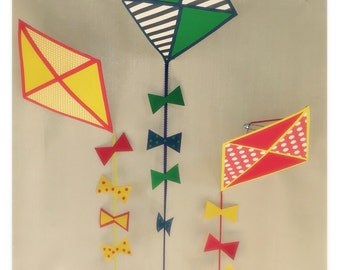 Kite Decorations Hanging  set of 3