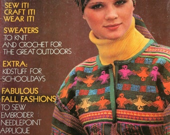 Sewing Patterns Knitting Crochet McCalls Fashion Creative Clothes vol III Sweater Dress Jacket Poncho Vintage Paper Original NOT a PDF