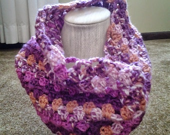 Cotton Candy Cowl / Cotton Candy Infinity Scarf