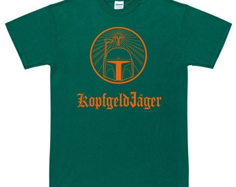 KopfgeldJager Bounty Hunter In German T Shirt