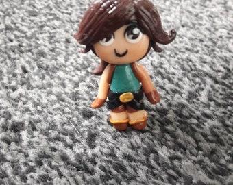 Lara croft key ring