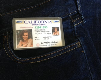 Lorraine Baines Novelty ID Back To The Future Replica Prop