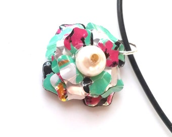 Upcycled Recycled Women Jewelry Arizona Tea Handmade Women Gift Recycled Soda Can Jewelry Necklace Pop Can Recycled Jewelry - N03