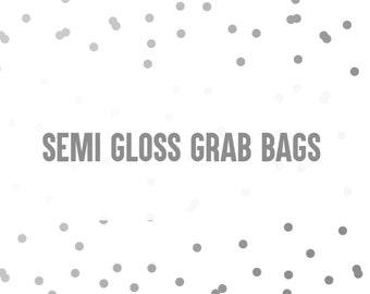 Semi Gloss Grab Bags ( 10 sheets )