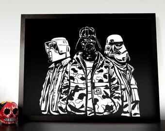 Dark Side Premium Poster