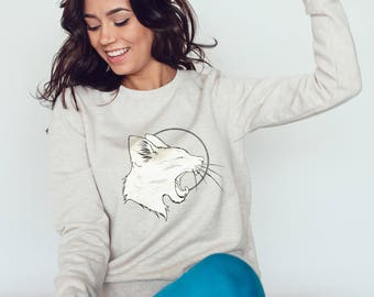Lunar Cat Sweatshirt #R