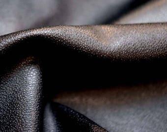 Kavinar Black Textured Vinyl Upholstery