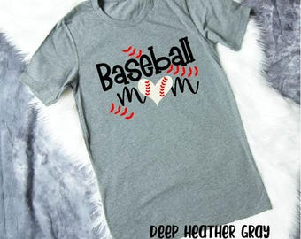 Baseball Mom Shirt - Baseball Shirt - Mom Shirt - Baseball Mom Tank - Baseball Mom Tshirt - Gift for Mom - Mothers Day Gift - Sports Mom