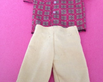 Vintage Ken mix and match outfit