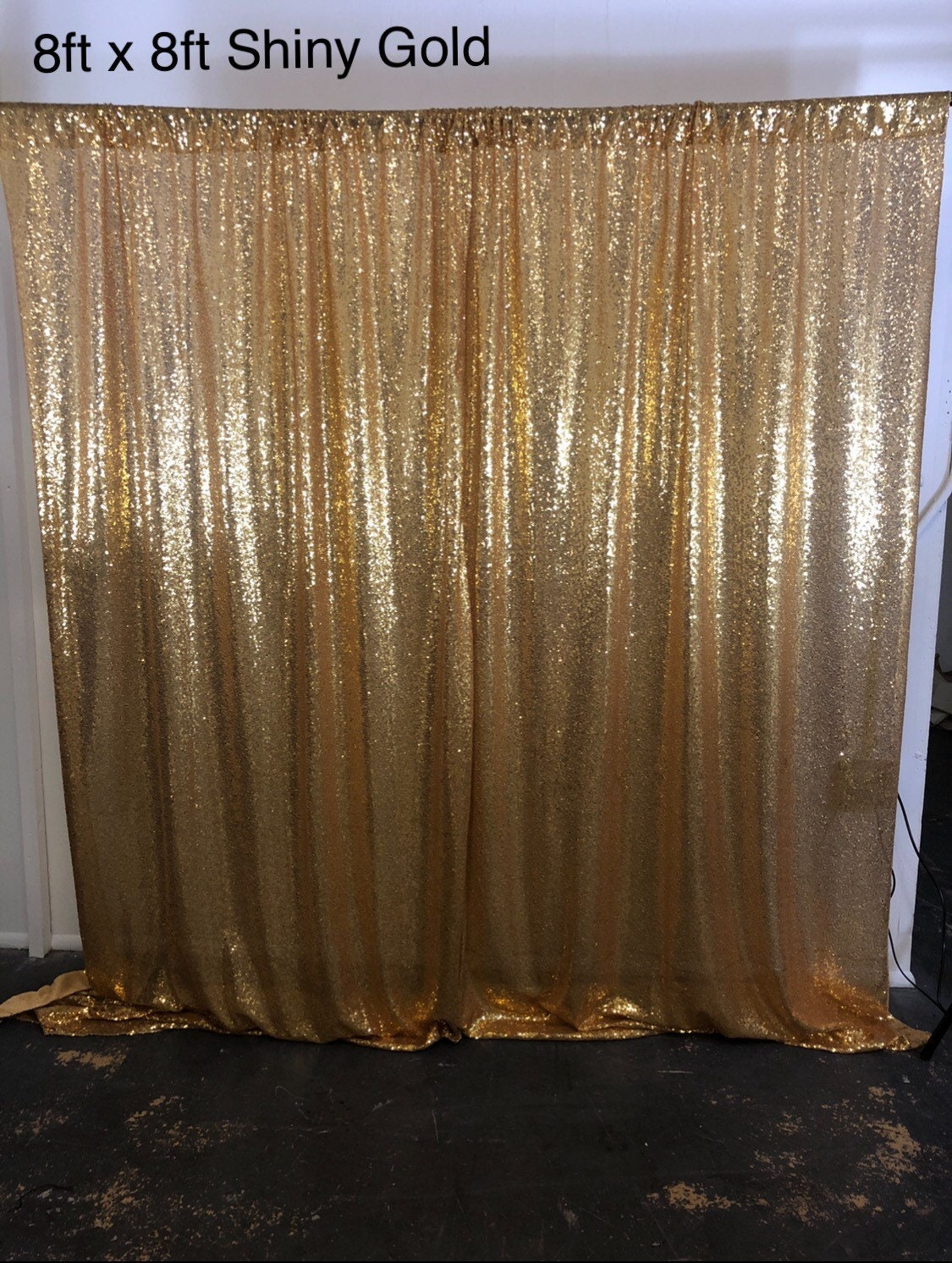 sale gold sequin photo backdrop sequence wedding photo. Black Bedroom Furniture Sets. Home Design Ideas