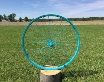 Bike tire art