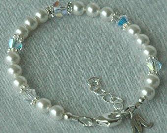 Initial Custom Children Bracelet