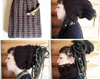 Dread Hat entirely handmade, crocheted!