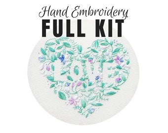 Hand Embroidery Kit Nevertheless She Persisted Beginner
