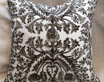 Sofia Java Browns pillow cover 18x18 20x20 22x22 24x24 26x26 13x26 12x20