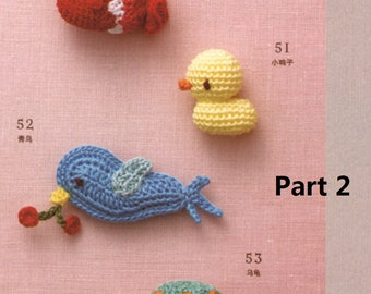 Ebook Chinese Crochet [Cute Brooches Amigurumi]