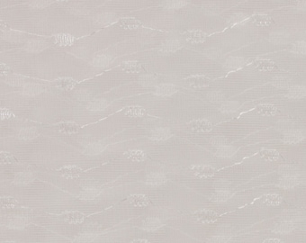 White organdy fabric White satin ripple design embroidered on the fabric 2 1/3 yds 64 inches wide Sheer organdy Sold as one piece