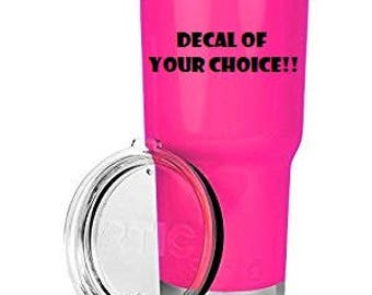 RTIC Tumbler with custom decal of your choice!!