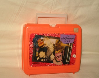 vintage 1989 thermos the jimhenson hour lunchbox and thermos
