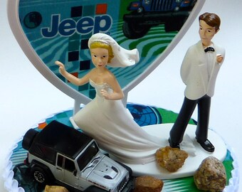 Jeep cake topper Etsy