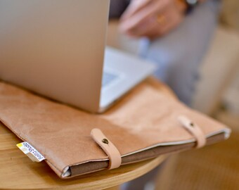 MacPack : Kraft paper simple laptop bag/laptop case/macbook bag/laptop sleeve for macbook 13 inch/Electronics Cases