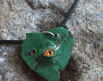 Polymer Clay Franken Heart